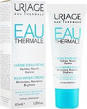 Parfums et Produits cosmétiques Crème au beurre de karité pour visage - Uriage Eau Thermale Rich Water Cream