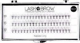 Parfums et Produits cosmétiques Faux-cils individuels - Lash Brown Premium Flare Silk Lashes Natural Long