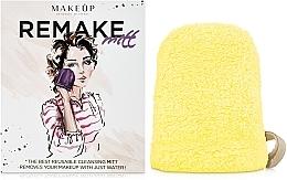Parfums et Produits cosmétiques Gant démaquillant ReMake, jaune, 15x12cm - MakeUp
