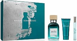 Parfums et Produits cosmétiques Adolfo Dominguez Agua Fresca Citrus Cedro - Coffret (eau de toilette/120ml + gel douche/75ml + eau de toilette/10ml)
