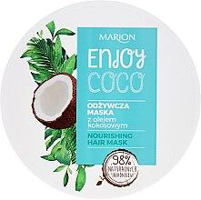 Parfums et Produits cosmétiques Masque nourrissant à l'huile de coco pour cheveux - Marion Enjoy Coco Nourishing Hair Mask