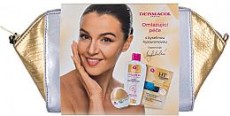 Parfums et Produits cosmétiques Dermacol 3D Hyaluron Therapy - Set (crème pour visage/50ml + masque pour visage/16ml + eau micellaire/200ml + trousse de toilette)