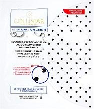 Parfums et Produits cosmétiques Masque fermeté anti-rides à base d'acide hyaluronique - Collistar Pure Actives Micromagnetic Mask Hyaluronic Acid