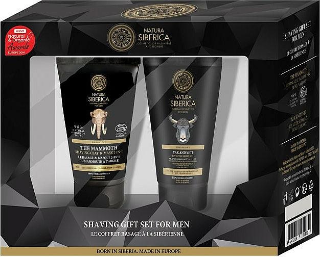 Coffret rasage - Natura Siberica (masque rasage/150ml + gel rasage/150ml)