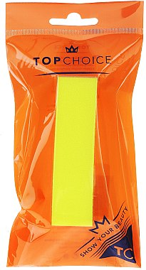 Bloc polissoir 120/150, 74813, jaune - Top Choice Colours Nail Block