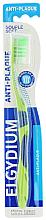 Parfums et Produits cosmétiques Brosse à dents Anti-plaque, souple, vert - Elgydium Anti-Plaque Soft Toothbrush