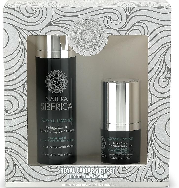 Coffret soin visage - Natura Siberica Caviar Gift Set (crème/50ml + crème contour des yeux/15ml)