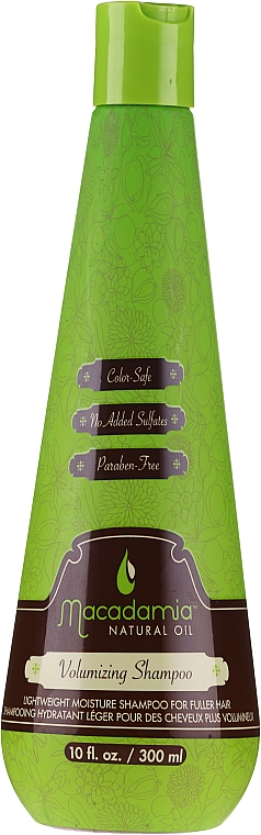Shampooing hydratant léger pour des cheveux plus volumineux - Macadamia Natural Oil Volumizing Shampoo — Photo N1