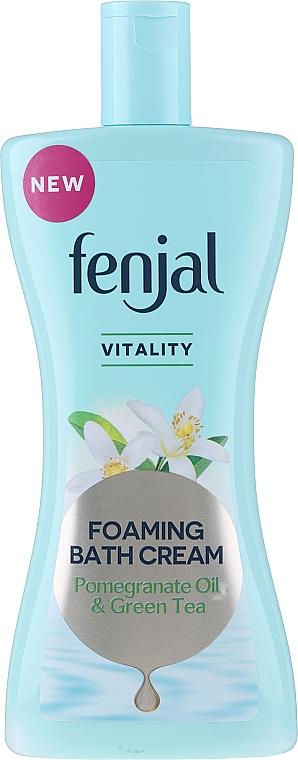 Crème de douche à l'huile de grenade et thé vert - Fenjal Vitality Pomegranate Oil & Green Tea Foaming Bath Cream