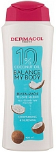 Parfums et Produits cosmétiques Lait à l'huile de noix de coco pour corps - Dermacol Balance My Body Coconut Oil