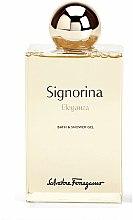 Parfums et Produits cosmétiques Salvatore Ferragamo Signorina Eleganza - Gel bain et douche parfumé