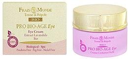 Parfums et Produits cosmétiques Crème à l'extrait de lavande pour contour des yeux - Frais Monde Pro Bio-Age Eye Cream