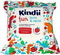 Parfums et Produits cosmétiques Lingettes nettoyantes pour enfants - Kindii Fun