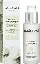 Parfums et Produits cosmétiques Sérum à l'extrait d'avoine et de fleur de sureau noir pour visage - Estelle & Thild BioCalm Optimal Rescue Serum