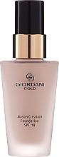Parfums et Produits cosmétiques Fond de teint - Oriflame Giordani Gold MasterCreation Foundation SPF 18