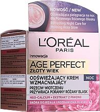 Parfums et Produits cosmétiques Crème de nuit au miel - L'Oreal Paris Age Perfect Neo-Calcium Night Cream 60+