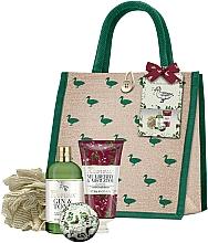 Parfums et Produits cosmétiques Baylis & Harding The Fuzzy Duck Winter Wonderland Large Gift Bag - Coffret cadeau (gel douche/300ml + lotion corps/200ml + boule/140g + fleur de bain)