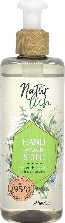 Savon liquide à l'extrait de verveine pour mains - Evita Naturlich Eco Liquid Soap Litsea Cubea