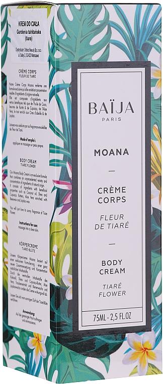 Crème au beurre de karité et huile de jojoba pour corps - Baija Moana Body Cream — Photo N1