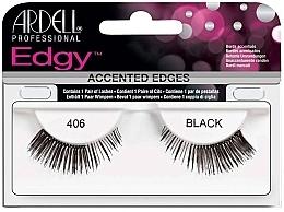 Parfums et Produits cosmétiques Faux-cils - Ardell Edgy Lash 406 Black