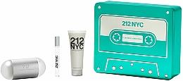Parfums et Produits cosmétiques Carolina Herrera 212 NYC - Coffret (eau de toilette/100ml + eau de toilette/10ml + lotion corporelle/75ml)