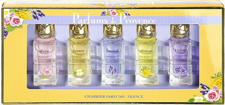 Charrier Parfums Parfums De Provence - Set (eau de toilette/5 x 10.8ml)