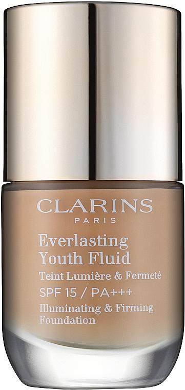 Fond de teint fluide raffermissant et anti-âge, SPF 15 - Clarins Everlasting Youth Fluid
