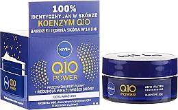 Parfums et Produits cosmétiques Crème de nuit à la coenzyme Q10 naturelle - Nivea Q10 Power Cream