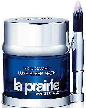 Masque de nuit à l'extrait de caviar pour visage - La Prairie Skin Caviar Luxe Sleep Mask — Photo N1