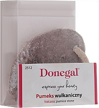 Parfums et Produits cosmétiques Pierre ponce volcanique naturelle pour pieds, 2512, marron - Donegal Bimsstein