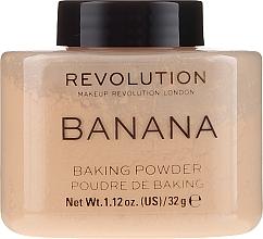 Parfums et Produits cosmétiques Poudre de baking pour visage - Makeup Revolution Banana Baking Powder