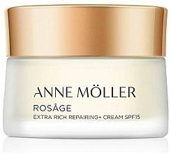 Parfums et Produits cosmétiques Crème de jour réparatrice à l'huile de graines de jojoba - Anne Moller Rosage Crema Extra Rica SPF15