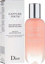 Parfums et Produits cosmétiques Solution traitante resurfaçante, signes de l'âge retardés - Dior Capture Youth New Skin Effect Enzyme Solution