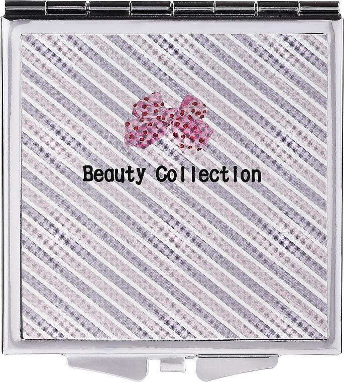 Miroir de poche, 85604, 6 cm, rayé - Top Choice Beauty Collection Mirror