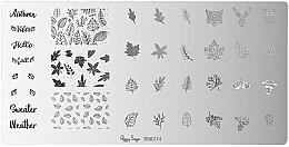 Parfums et Produits cosmétiques Plaque de stamping pour nail art, 1 pcs - Peggy Sage Stamping Plate