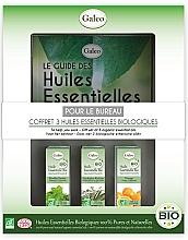 Parfums et Produits cosmétiques Galeo To Help You Work Gift Set - Coffret, Pour le bureau (huiles essentielles bio/3x10ml)
