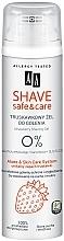 Parfums et Produits cosmétiques Gel de rasage à l'extrait d'aloe vera - AA Shave Safe & Care Strawberry Shaving Gel