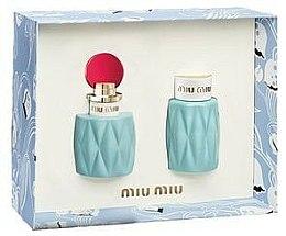Parfums et Produits cosmétiques Miu Miu - Coffret (eau de parfum/50ml + lotion parfumée/100ml)