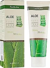 Parfums et Produits cosmétiques Mousse nettoyante à l'extrait d'aloe vera pour visage - FarmStay Pure Cleansing Foam Aloe