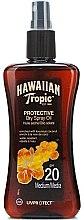 Parfums et Produits cosmétiques Huile sèche à la noix de coco SPF 20 - Hawaiian Tropic Protective Dry Oil SPF20