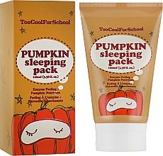 Parfums et Produits cosmétiques Masque de nuit à la citrouille - Too Cool For School Pumpkin Sleeping Pack