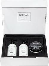 Parfums et Produits cosmétiques Balmain Paris Hair Couture Moisturizing Care Set - Coffret (shampooing/300ml + après-shampooing/300ml + masque/200ml)
