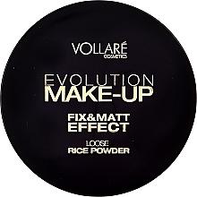 Parfums et Produits cosmétiques Poudre libre de riz pour visage - Vollare Cosmetics Evolution Make-up Rise Powder