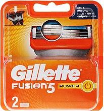 Parfums et Produits cosmétiques Lames de rechange pour rasoir, 2 pcs - Gillette Fusion Power