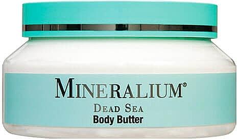 Beurre aux minéraux de la mer Morte pour corps - Minerallium Mineral Therapy Body Butter