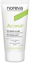 Parfums et Produits cosmétiques BB- crème, soin teinté anti-imperfections - Noreva Laboratoires Actipur Tinted BB Cream