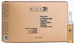 Parfums et Produits cosmétiques Lotion en ampoules au panthénol pour cheveux - Black Professional Line Panthenol & Placenta Lotion