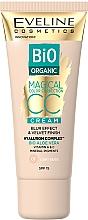 Parfums et Produits cosmétiques CC crème à l'aloe vera bio - Eveline Cosmetics Bio Organic Magical CC Cream SPF 15