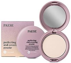 Parfums et Produits cosmétiques Poudre compacte matifiante pour visage - Paese Perfecting & Covering Nanorevit Powder