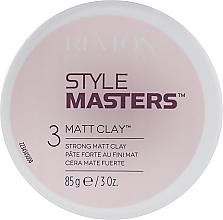 Parfums et Produits cosmétiques Pâte coiffante mate - Revlon Professional Style Masters Matt Clay